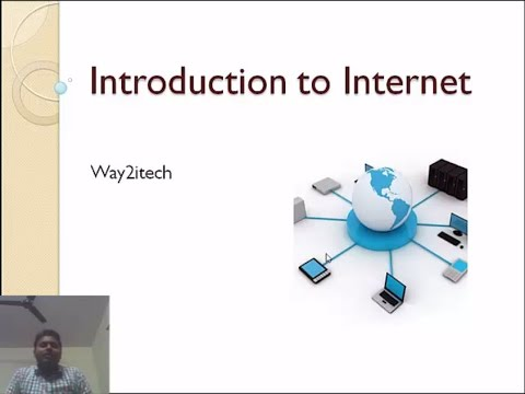 1. Introduction to internet