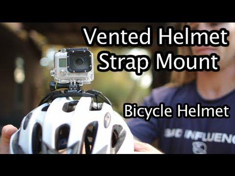 Gopro Vented Helmet Strap Mount For Bicycle Helmet Gopro Tip 215