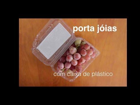 DIY Reciclando caixa de plástico ✂️ Artesanato