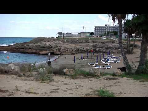 Pernera (Protaras) Beaches, Cyprus - south to north