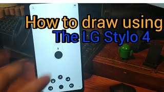 LG Stylo 4 | How to draw with Autodesk sketchbook|