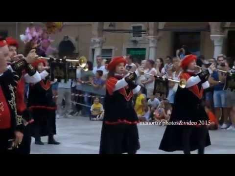 Quintana Di Ascoli Piceno 2015: Chiarine E Tamburi  In HD 1080 (manortiz)