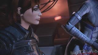 Mass Effect 3 | FemShep & Liara Full Romance/Sex Scene ᴴᴰ