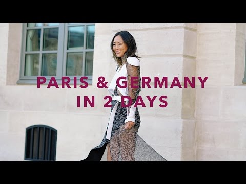 Paris & Germany With Louis Vuitton Vlog | Song of Style