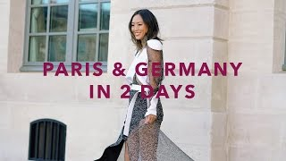 paris germany with louis vuitton vlog song of style