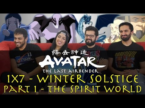 Avatar: The Last Airbender - 1x7 Winter Solstice Part 1 The Spirit World - Group Reaction