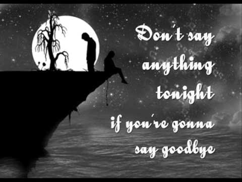 Skillet - Say Goodbye Lyric Video