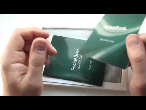 Распаковка.PocketBook Touch Lux 3 или PocketBook 626 plus.