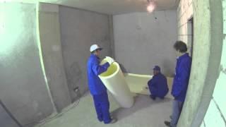 видео Утеплитель под ламинат, теплопроводность подложки и выбор
