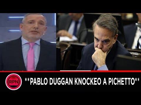 Explosiva editorial de Pablo Duggan contra Pichetto