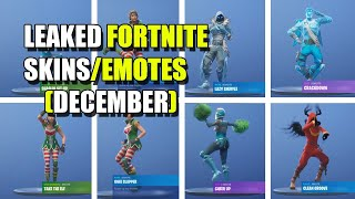 *NEW* LEAKED FORTNITE DANCES/EMOTES (DECEMBER)