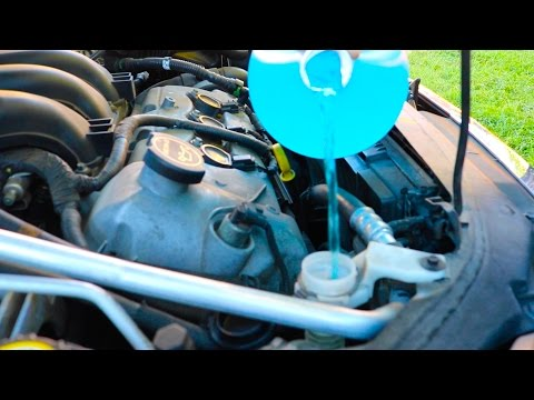 How-To: Replace Windshield Washer Fluid & DeIcer (Ford Fusion)