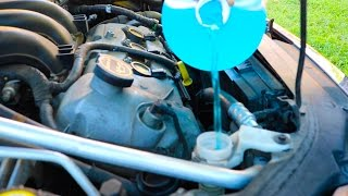 How To Replace Windshield Washer Fluid DeIcer Ford Fusion