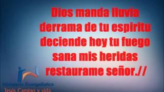 DIOS MANDA LLUVIA (karaoke)