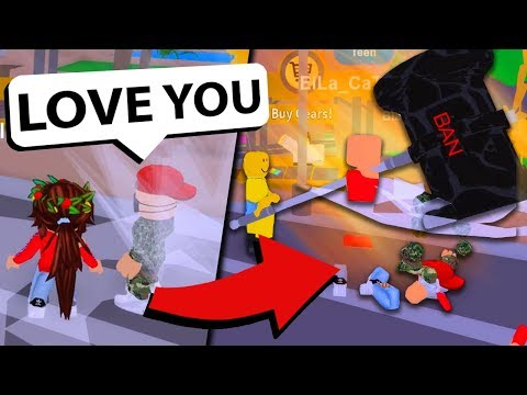 Roblox custom admin BANS AND EMBARRASSES ONLINE DATERS