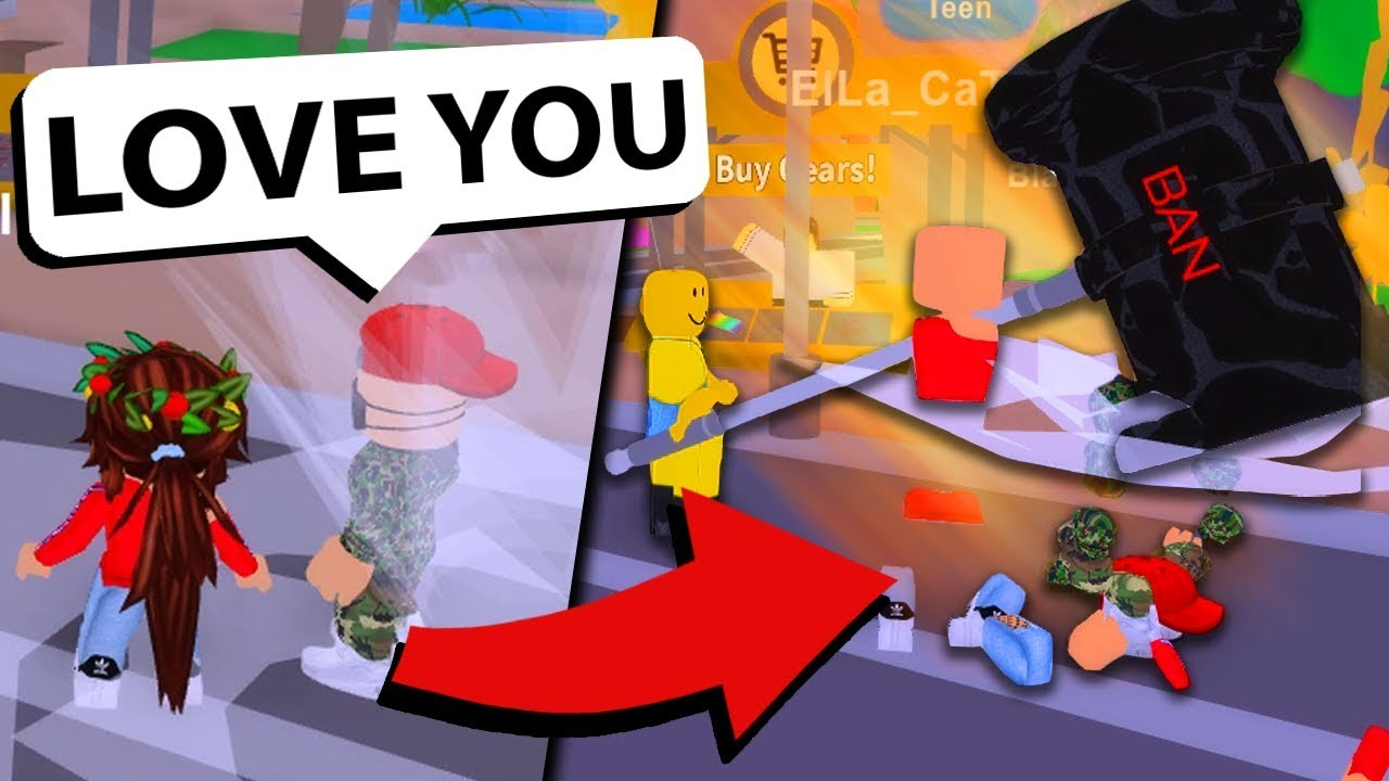 Roblox Custom Admin Bans And Embarrasses Online Daters Youtube
