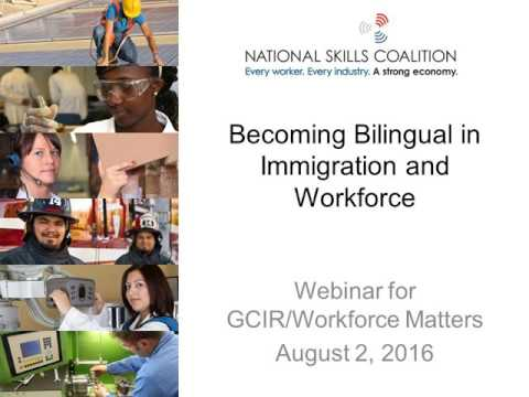 Becoming Bilingual in Immigration & Workforce: What Philanthropic Leaders Need to Know