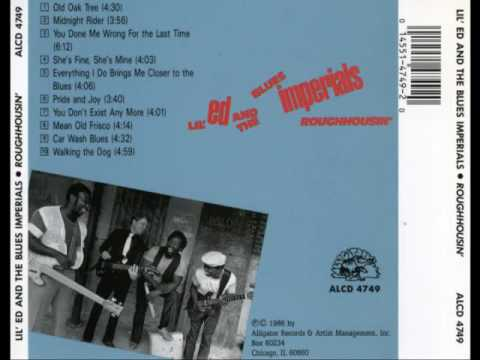 Lil' Ed And The Blues Imperials - Roughhousin' [Full Album]