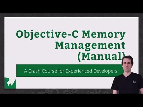 Objective-C Memory Management - raywenderlich.com