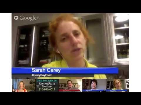 Summer Grilling Google+ Hangout - Everyday Food with Sarah Carey