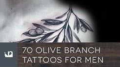 70 Olive Branch Tattoos For Men