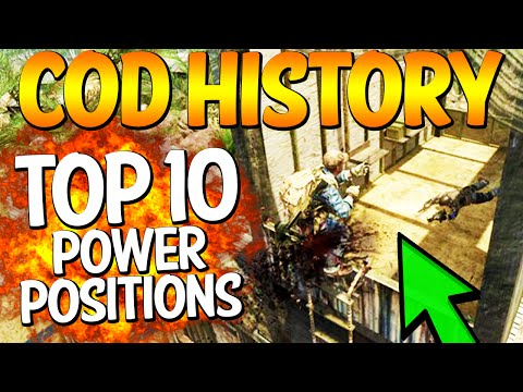 "Top 10 ""POWER POSITIONS"" in COD HISTORY (Top Ten - Top 10)"