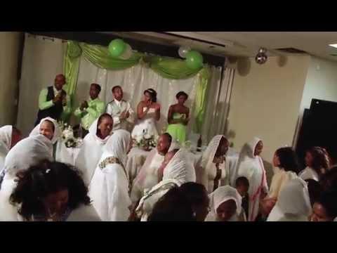 Habtom & Ruta Wedding 2014 Part1(Habesha Wedding) Calgary AB