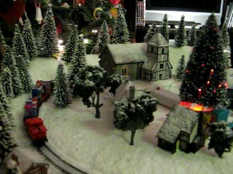 Fantasy Christmas Train, Winter Wonderland Model Railway