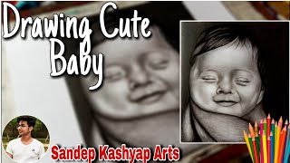 Drawing cute baby | H๐w To Draw Cute Baby | Drawing Baby | Pencil Drawing Of Baby | Cute