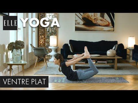 20 minutes de yoga ventre plat┃ELLE Yoga