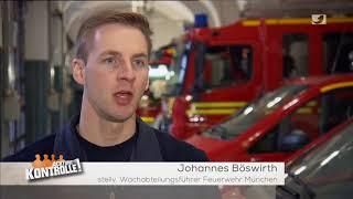 Berufsfeuerwehr München - Achtung Kontrolle Wir kümmern uns drum 30.01.2018