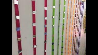 Wall Decoration Idea With Satin Ribbon And Mirror || Diy Craft || V & N Creations