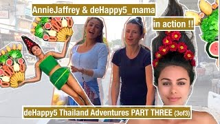 Thailand Adventures part THREE (Annie is leaving us, papaya deal, fruit luck at Warm Heart) deHappy5