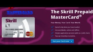 How To Open Verified Skrill Account Bangla Tutorial 2017 with MasterCard