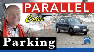 How to Parallel Park with Cones | Step by Step Instructions
