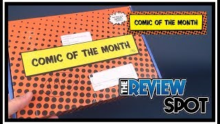 Subscription Spot   Comic of the Month December 2017 UNBOXING