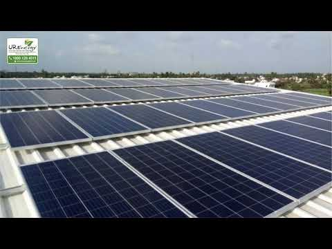 40 KW Commercial Solar Rooftop Project gujarat - U R Energy