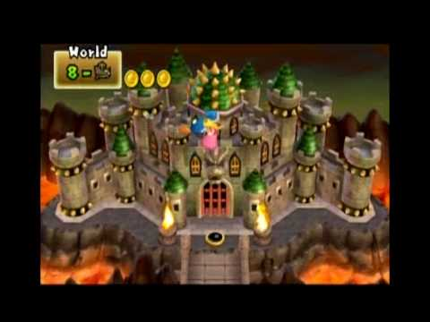 how to get to world 7-7 in super mario ds