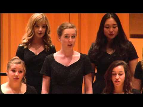 Colorado State University Concert Chamber Choir 10-9-15