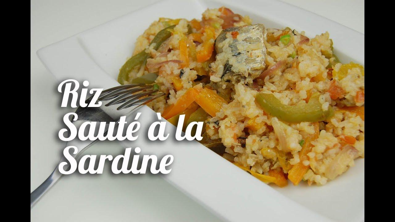 Riz Saute A La Sardine Youtube