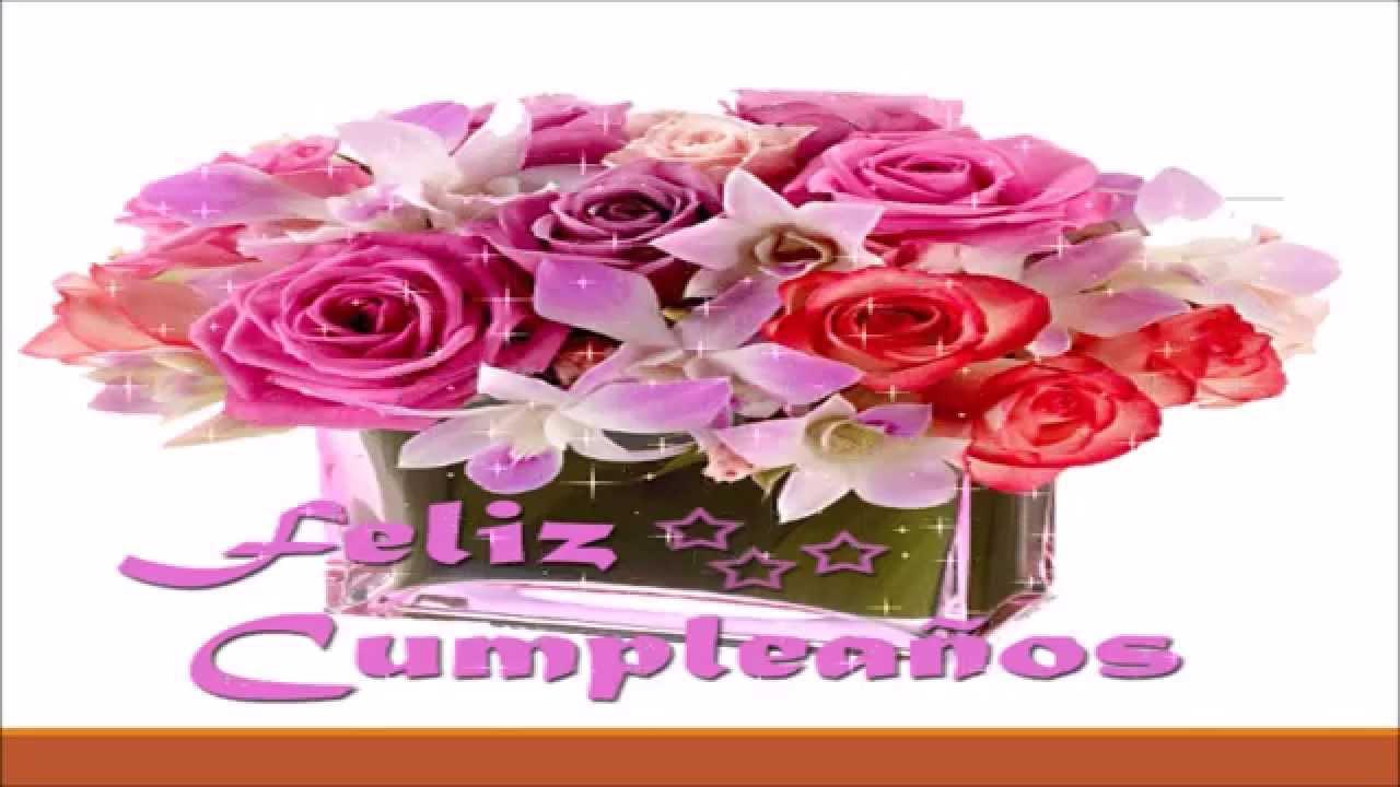 FELIZ CUMPLEA u00d1OS CANCION 2018 EXCELENTE MUSICA DE CUMPLEA u00d1OS LO MEJOR YouTube