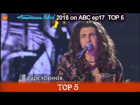 "Cade Foehner sings ""Undo It"" HE MADE HIS OWN  American Idol 2018 Top 5"