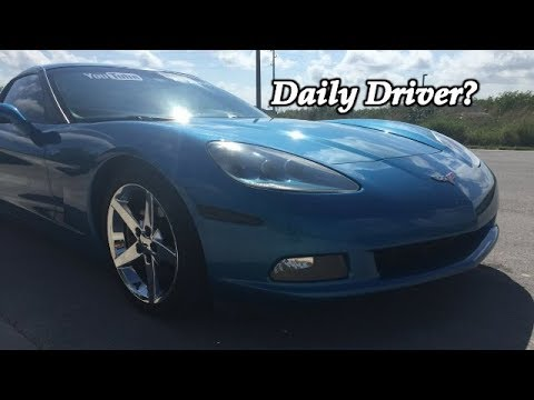 The TRUTH about daily driving a corvette C6...