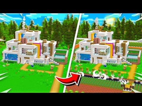 SELF BUILDING SAFEST MINECRAFT HOUSE!