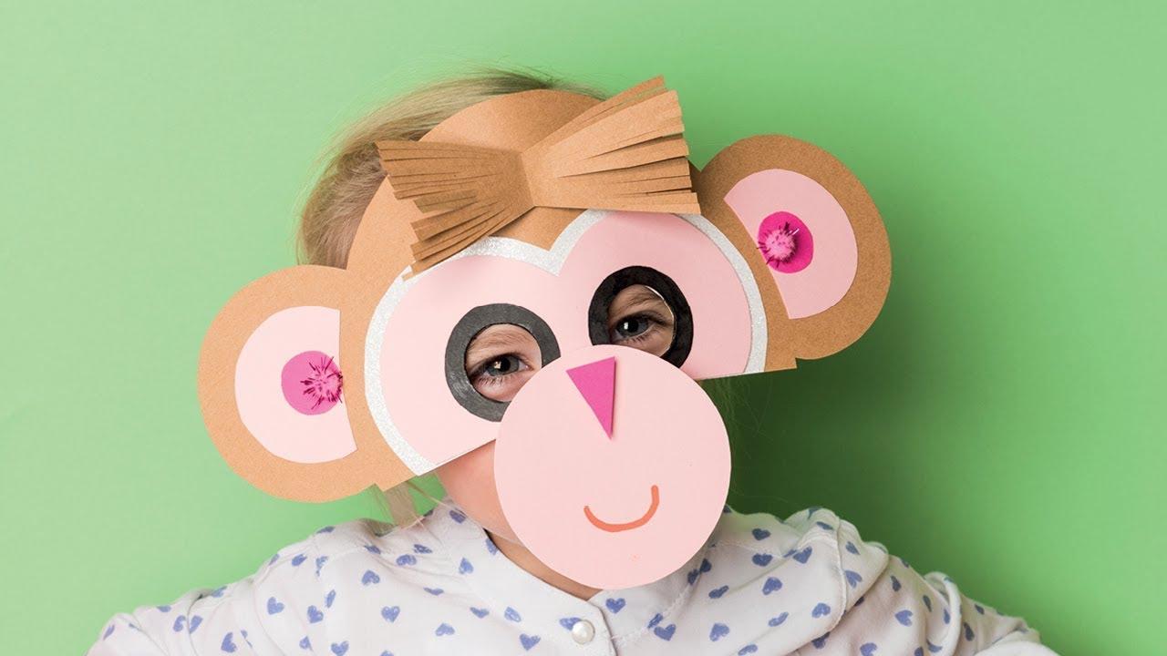 Diy Anleitung Masken Basteln Für Karneval Fasching Basteln Mit Kindern