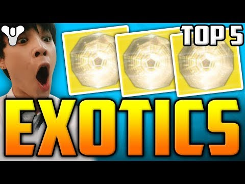 Destiny 2 - TOP 5 Curse Of Osiris Lucky EXOTIC LOOT DROPS!! W/ Epic Reactions! / Episode 36