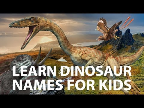 Learn Dinosaur Names From A To Z | Dinosaurs A To Z | Dinosaurs Names For Kids