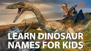 Learn Dinosaur Names from a to z