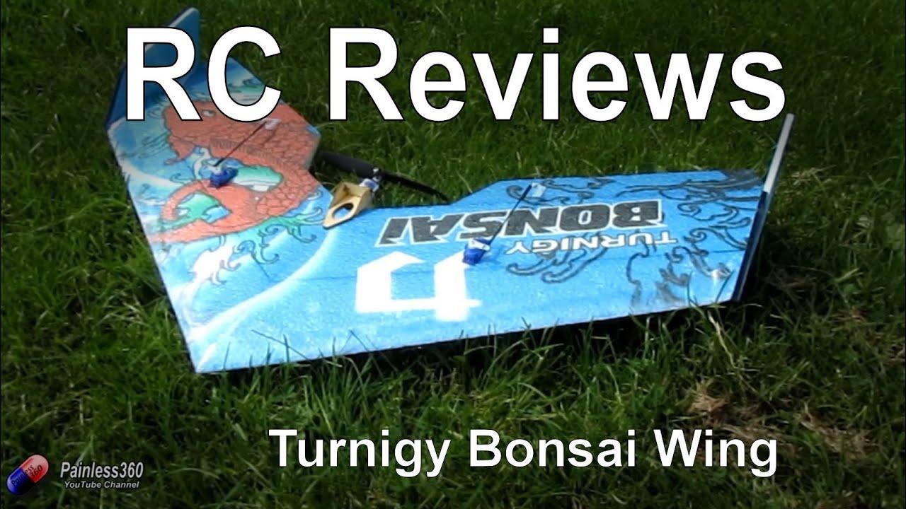 Rc Reviews Turnigy Bonsai Wing From Hobbyking Com Youtube