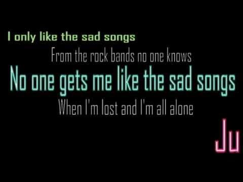 Sad Songs - The Maine lyrics